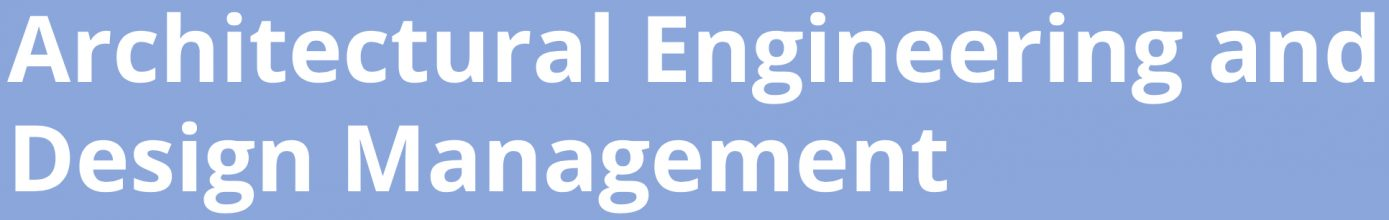 Architectural Engineering and Design Management