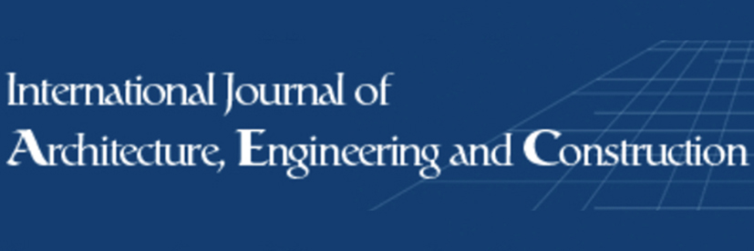 International Journal of Architecture, Engineering and Construction