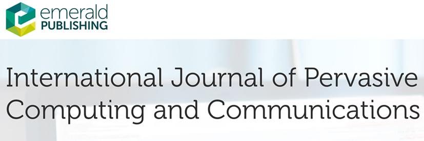 International Journal of Pervasive Computing and Communications