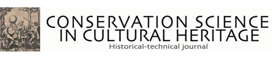 Conservation Science in Cultural Heritage