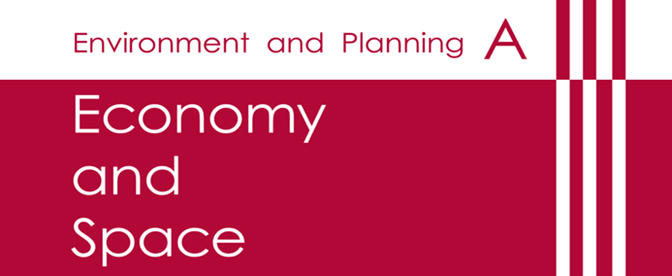 Environment and Planning A | Economy and Space