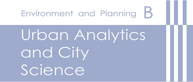 Environment and Planning B | Urban Analytics and City Science