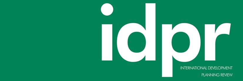 International Development Planning Review